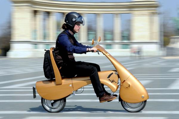 El scooter eléctrico del futuro