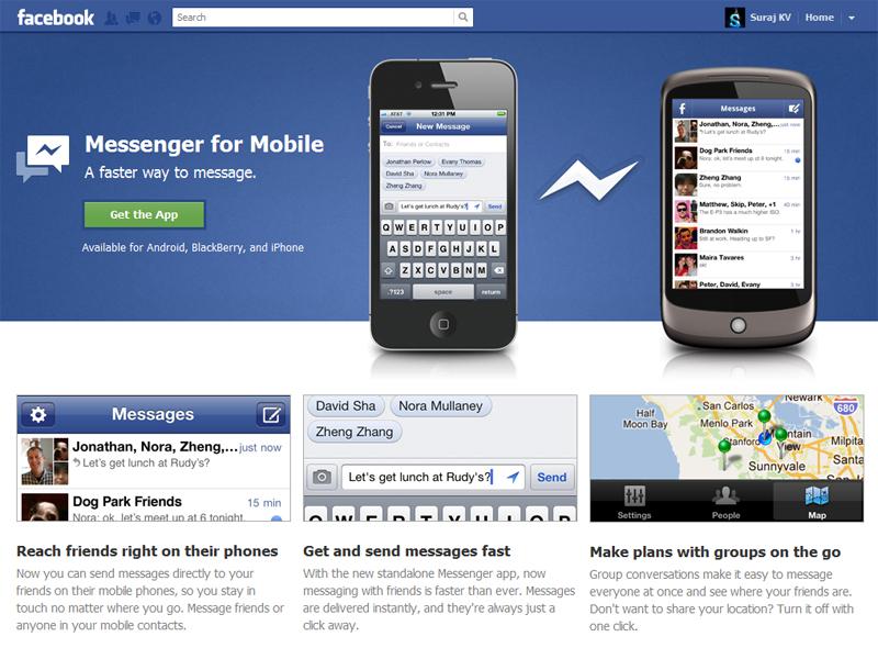 """""""Messenger"""" será obligatorio en los móviles"""