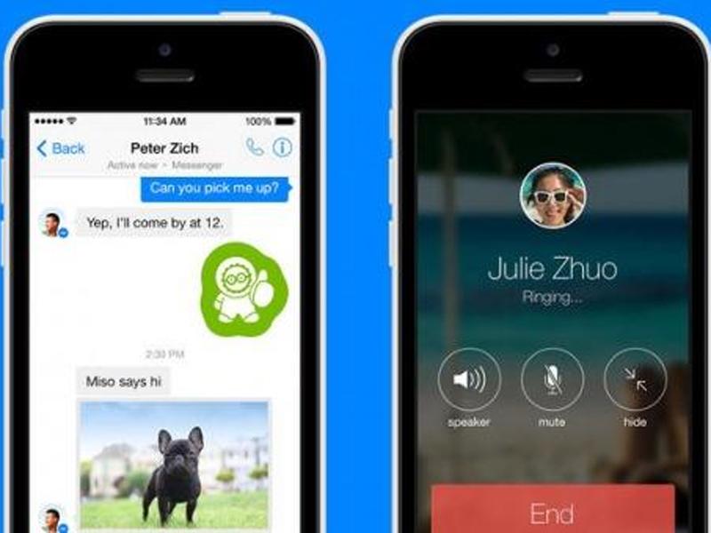 Facebook Messenger ahora permite llamadas de voz gratuitas