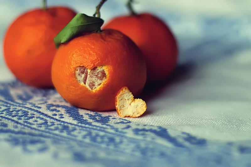 Receta con frutas de estación
