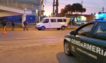 Gendarmería llegó a Beltrán