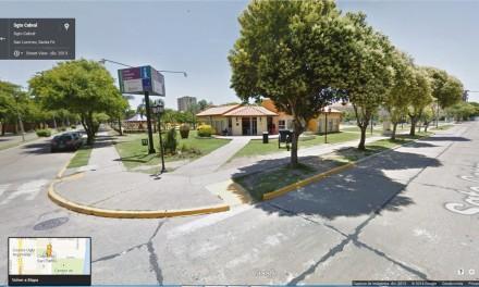 Las calles de San Lorenzo se pueden recorrer en la web