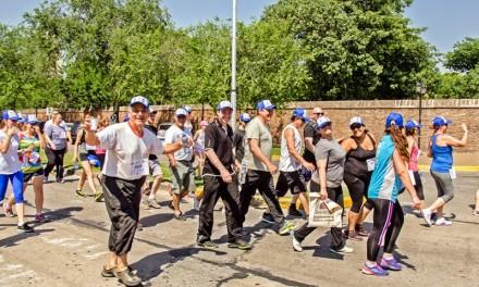 «San Lorenzo al aire libre» se puso en marcha con una «Caminata Saludable»