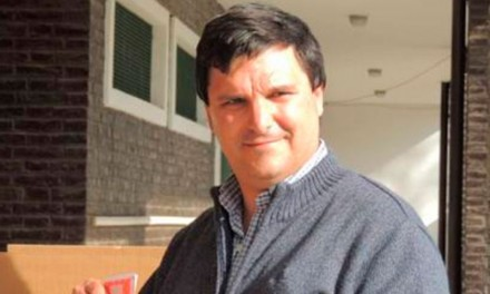 Escalante va por un nuevo período como concejal de Roldán