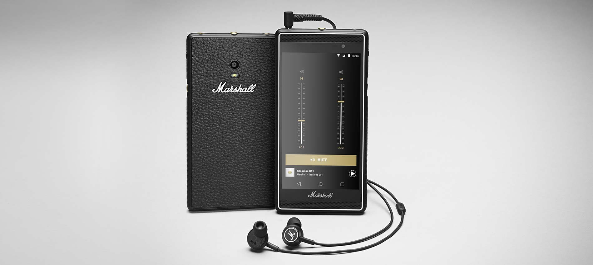 Marshall lanzó un celular especial para rockeros