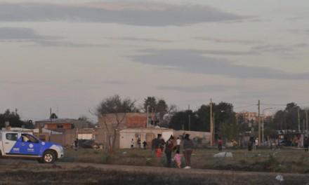 Efectivos policiales evitaron usurpación de terrenos en San Lorenzo