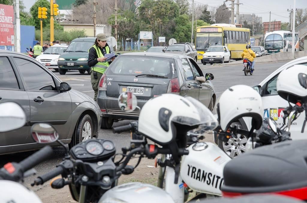 San Lorenzo: de cada 10 accidentes, 7 son protagonizados por motocicletas