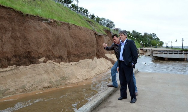 La provincia se hará cargo de la reconstrucción del Paseo de la Libertad