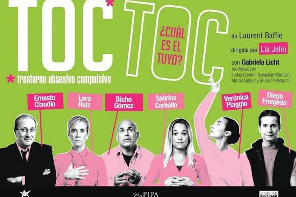 Arrancó la venta de entradas para Toc Toc y Lo Lumvrise