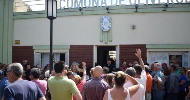 Oliveros: vecinos se convocaron para reclamar mayor seguridad